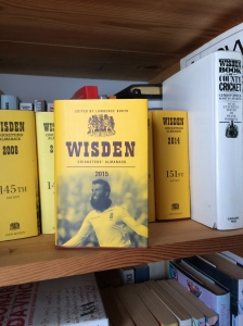 Wisden 2015 - a welcome addition to the shelf