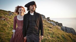 Ross Poldark and serving wench Demelza