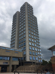 The Attenborough Tower at the University of Leicester