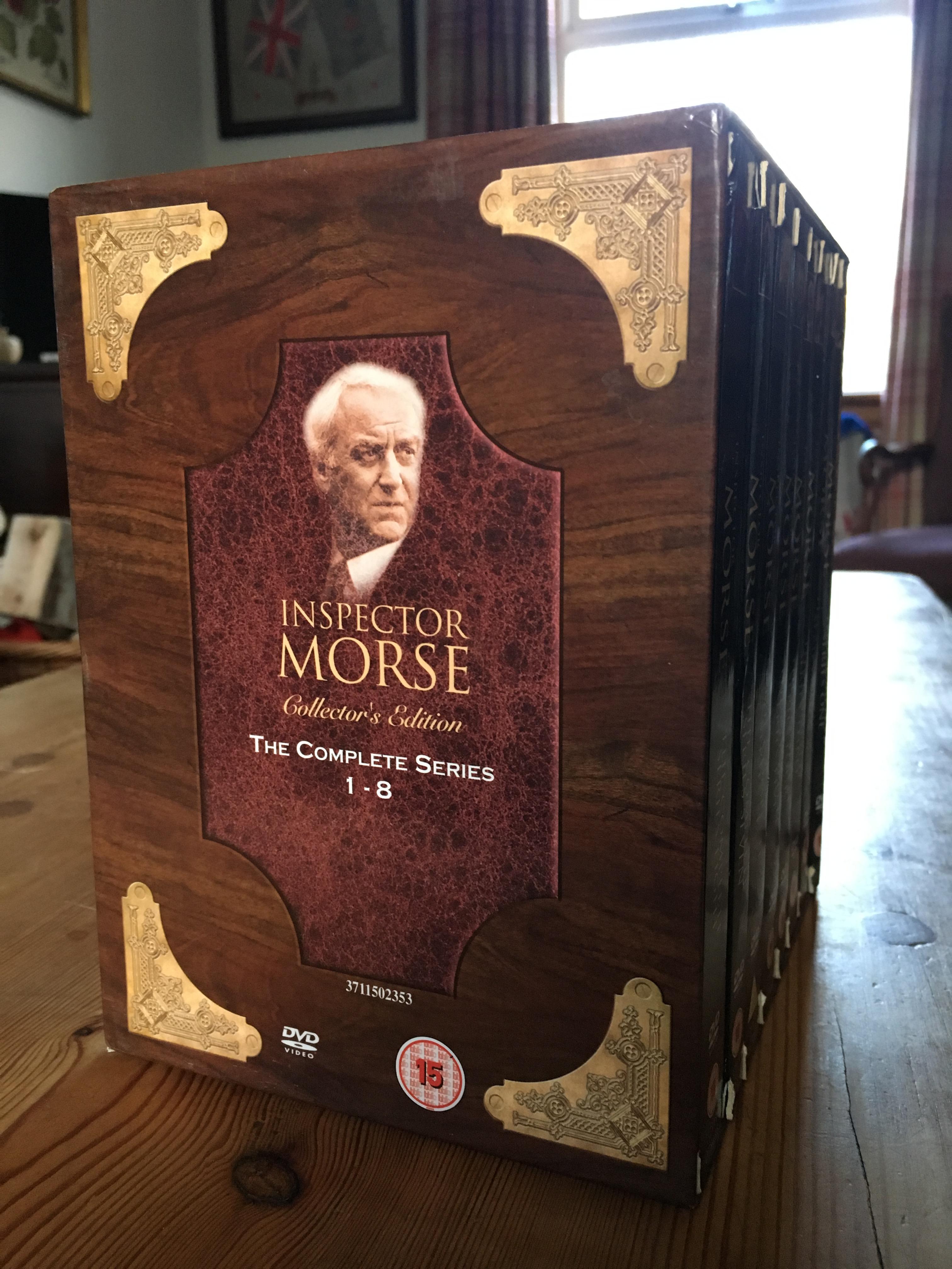 Morse on DVD